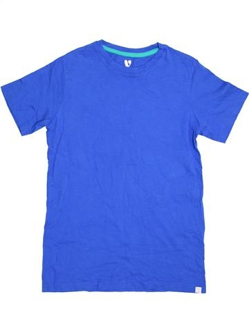 T-shirt manches courtes garçon V BY VERY bleu 12 ans été #1363037_1