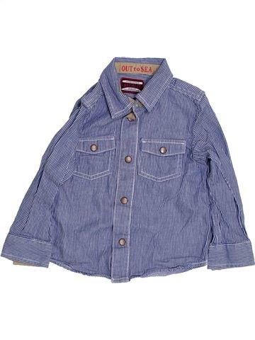 Camisa de manga larga niño MOTHERCARE gris 3 años invierno #1363072_1
