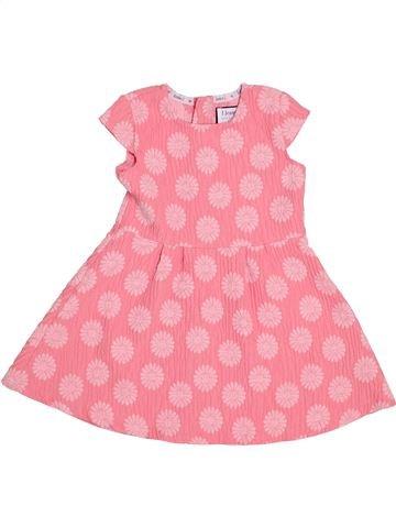 Vestido niña JASPER CONRAN rosa 4 años verano #1363411_1