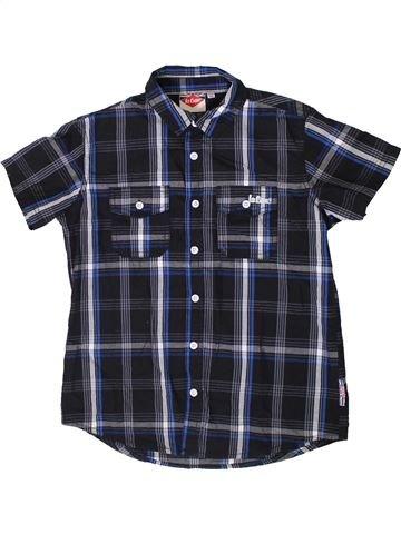 Chemise manches courtes garçon LEE COOPER bleu 10 ans été #1363790_1