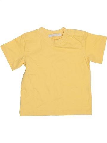 T-shirt manches courtes garçon LA REDOUTE CRÉATION jaune 2 ans été #1364102_1