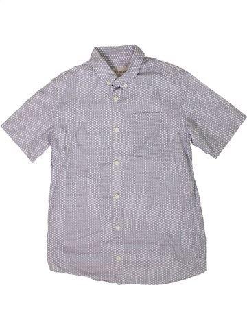 Chemise manches courtes garçon RIVER ISLAND gris 10 ans été #1364555_1