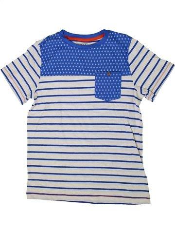 T-shirt manches longues garçon F&F blanc 12 ans hiver #1364714_1
