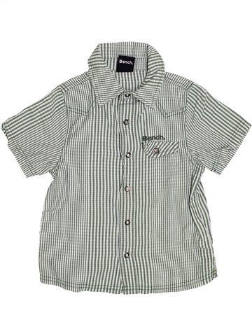 Chemise manches courtes garçon BENCH gris 3 ans été #1365071_1