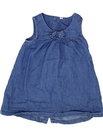 Vestido niña SANS MARQUE azul 2 años verano #1365145_1