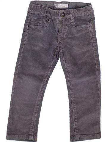 Pantalon fille OKAIDI bleu 2 ans hiver #1365655_1
