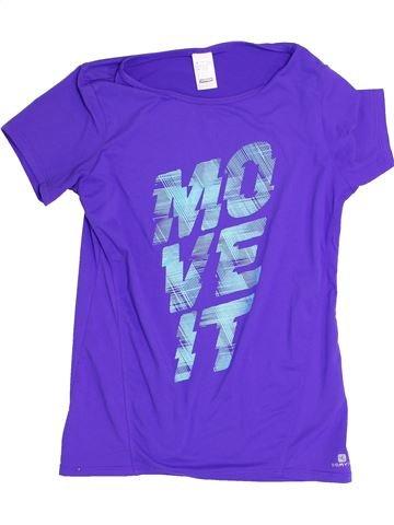 Sportswear fille DÉCATHLON violet 12 ans été #1365830_1