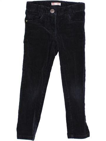 Pantalon fille DPAM noir 4 ans hiver #1365871_1