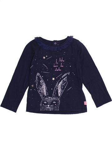 T-shirt manches longues fille BILLIEBLUSH bleu 2 ans hiver #1365880_1