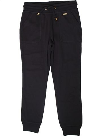 Pantalon fille F&F bleu foncé 10 ans hiver #1365950_1
