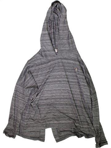 T-shirt manches longues fille RIVER ISLAND gris 12 ans hiver #1366338_1