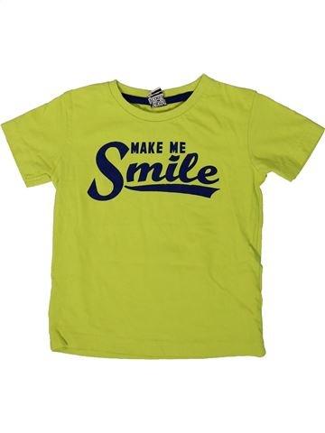 T-shirt manches courtes garçon TAPE À L'OEIL vert 3 ans été #1366540_1