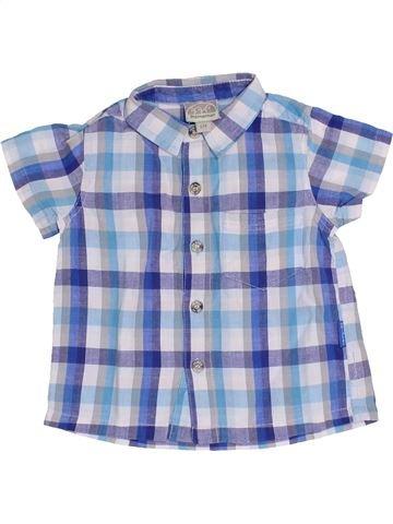 Camisa de manga corta niño PREMAMAN azul 6 meses verano #1366718_1