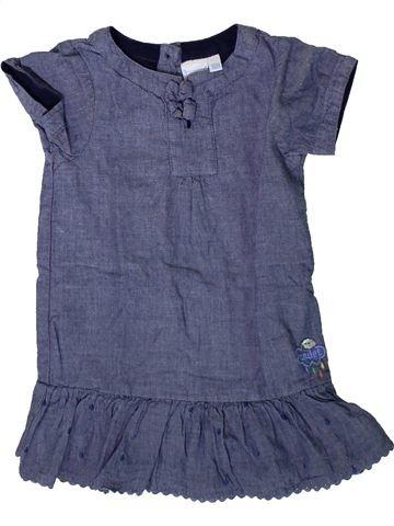 Robe fille CADET ROUSSELLE bleu 18 mois été #1366906_1