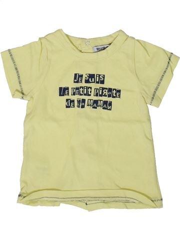 T-shirt manches courtes garçon TAPE À L'OEIL vert 6 mois été #1366955_1