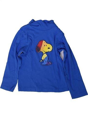 T-shirt col roulé garçon SNOOPY bleu 3 ans hiver #1366974_1