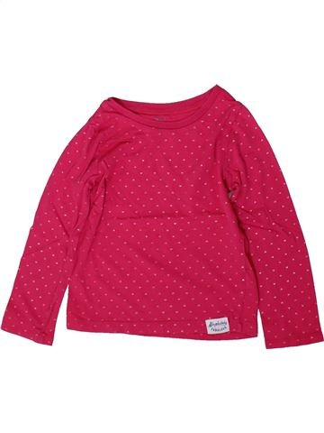 T-shirt manches longues fille CARTER'S rose 5 ans hiver #1366994_1