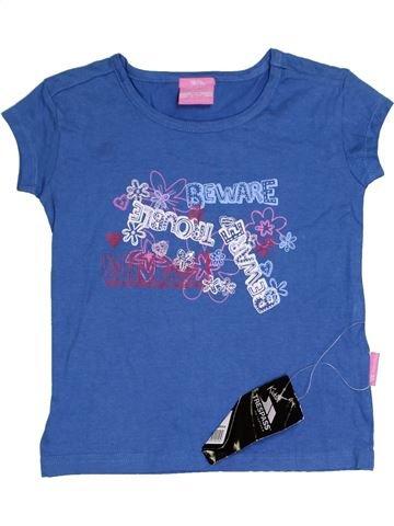 T-shirt manches courtes fille TRESPASS bleu 4 ans été #1367053_1