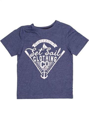 T-shirt manches courtes garçon TU bleu 6 ans été #1367114_1