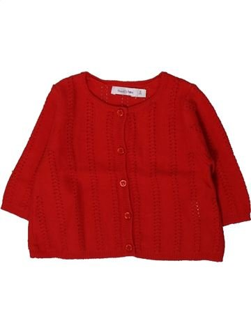 Chaleco niña BOUT'CHOU rojo 3 meses invierno #1367179_1