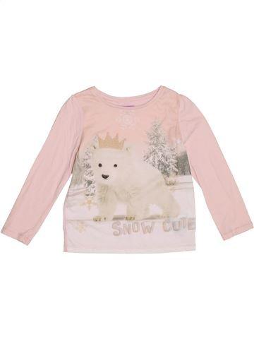 T-shirt manches longues fille F&F violet 5 ans hiver #1367299_1
