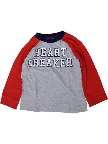 T-shirt manches longues garçon CARTER'S gris 3 ans hiver #1367381_1