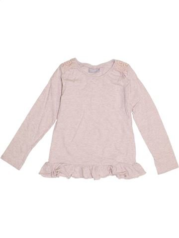 T-shirt manches longues fille I LOVE GIRLSWEAR violet 7 ans hiver #1367402_1