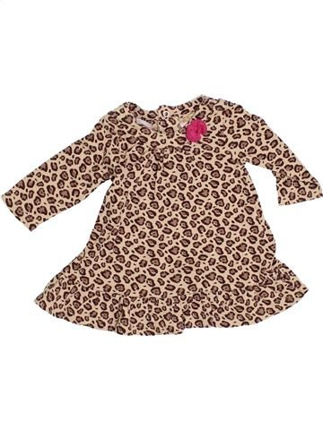 Robe fille BLUEZOO beige 6 mois hiver #1367584_1