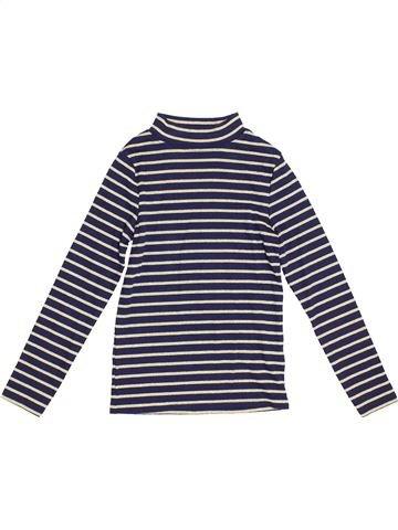 T-shirt manches longues fille NUTMEG blanc 8 ans hiver #1367686_1