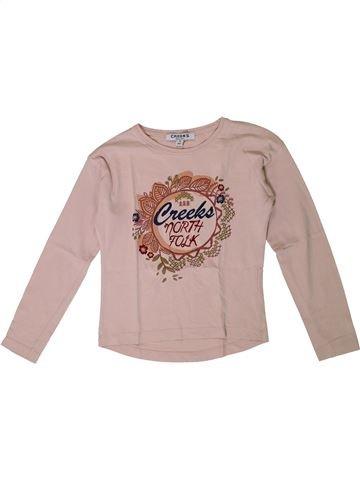 Camiseta de manga larga niña CREEKS beige 8 años invierno #1367763_1
