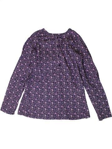 Blouse manches longues fille TOUT COMPTE FAIT violet 10 ans hiver #1367770_1