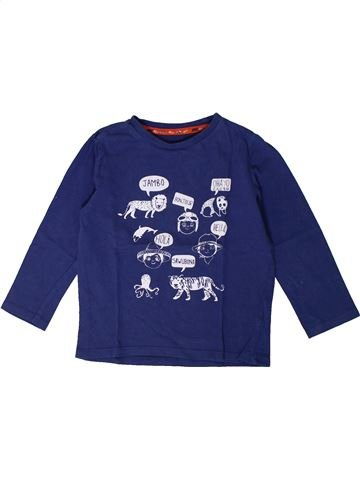 T-shirt manches longues garçon SERGENT MAJOR bleu 4 ans hiver #1367776_1