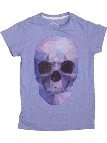 T-shirt manches courtes garçon AWESOME APPAREL bleu 8 ans été #1367817_1