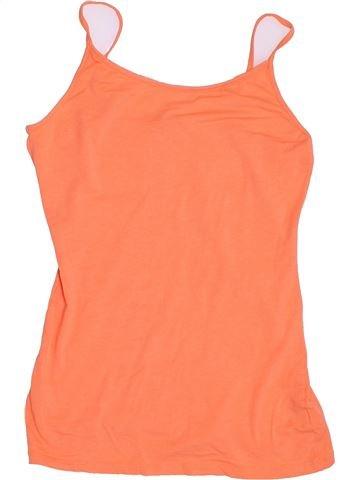 Camiseta sin mangas niña MISS E-VIE naranja 14 años verano #1367961_1