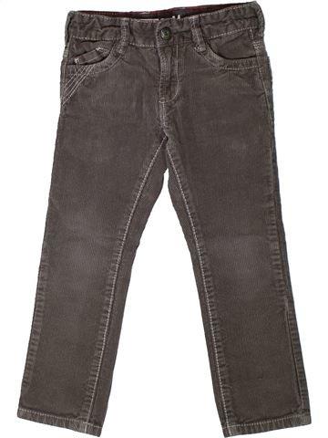 Pantalon garçon OKAIDI gris 3 ans hiver #1368091_1