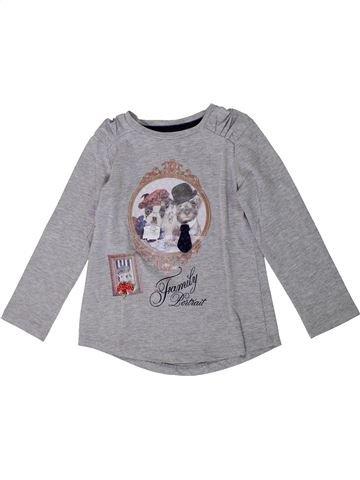 Camiseta de manga larga niña MAYORAL gris 4 años invierno #1368114_1