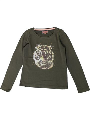 T-shirt manches longues fille KID'S GRAFFITI vert 8 ans hiver #1368275_1