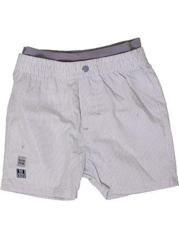 Short-Bermudas niño SUCRE D'ORGE blanco 9 meses verano #1368348_1