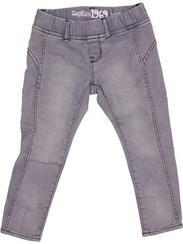 Pantalón niña GAP gris 4 años invierno #1368379_1