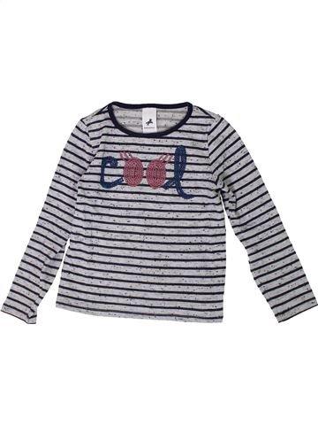 T-shirt manches longues fille C&A gris 6 ans hiver #1368425_1