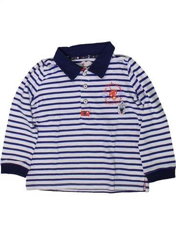 Polo manches longues garçon SERGENT MAJOR bleu 2 ans hiver #1368493_1