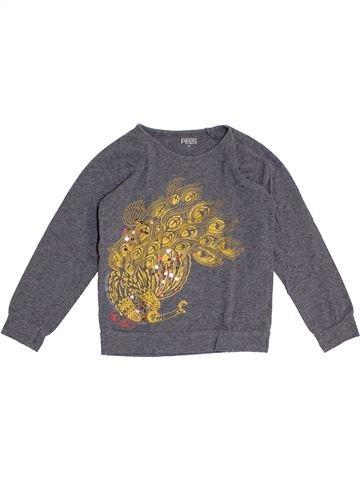 T-shirt manches longues fille LA COMPAGNIE DES PETITS gris 5 ans hiver #1368591_1