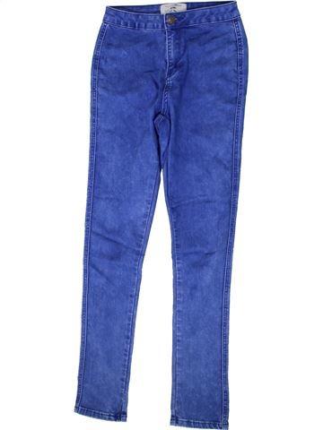 Jean fille NEW LOOK bleu 13 ans hiver #1368826_1