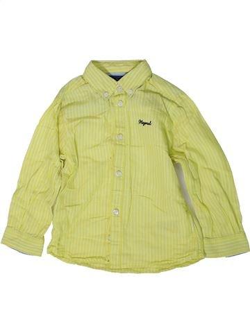 Chemise manches longues garçon MAYORAL vert 2 ans hiver #1368906_1