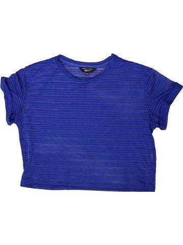 T-shirt manches courtes fille NEW LOOK bleu 13 ans été #1368914_1