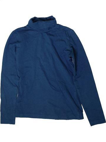 T-shirt col roulé fille KIDS bleu 8 ans hiver #1368986_1