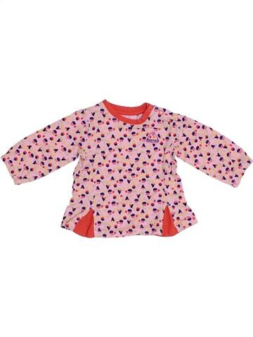 T-shirt manches longues fille NOPPIES rose 1 mois hiver #1369115_1