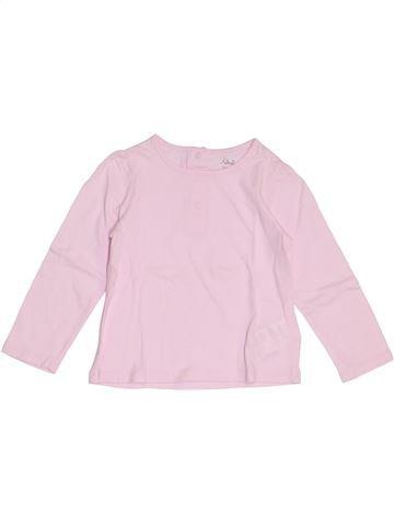 Camiseta de manga larga niña KIMBALOO rosa 2 años invierno #1369158_1