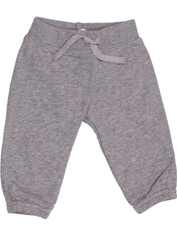 Pantalon garçon BENETTON gris 6 mois hiver #1369226_1