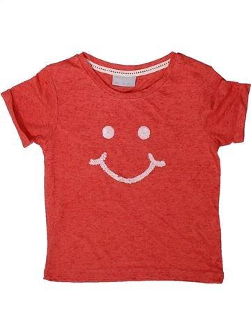 T-shirt manches courtes fille I LOVE GIRLSWEAR rouge 4 ans été #1369568_1
